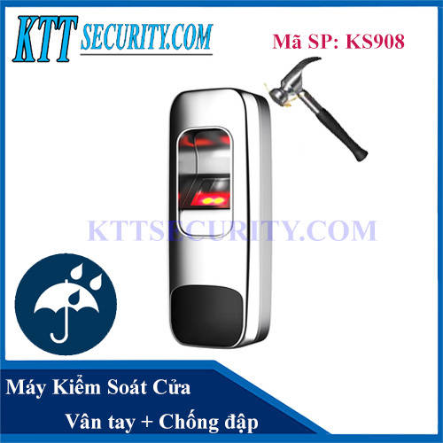 Kiểm soát cửa vân tay Metal Chống nước | KS908