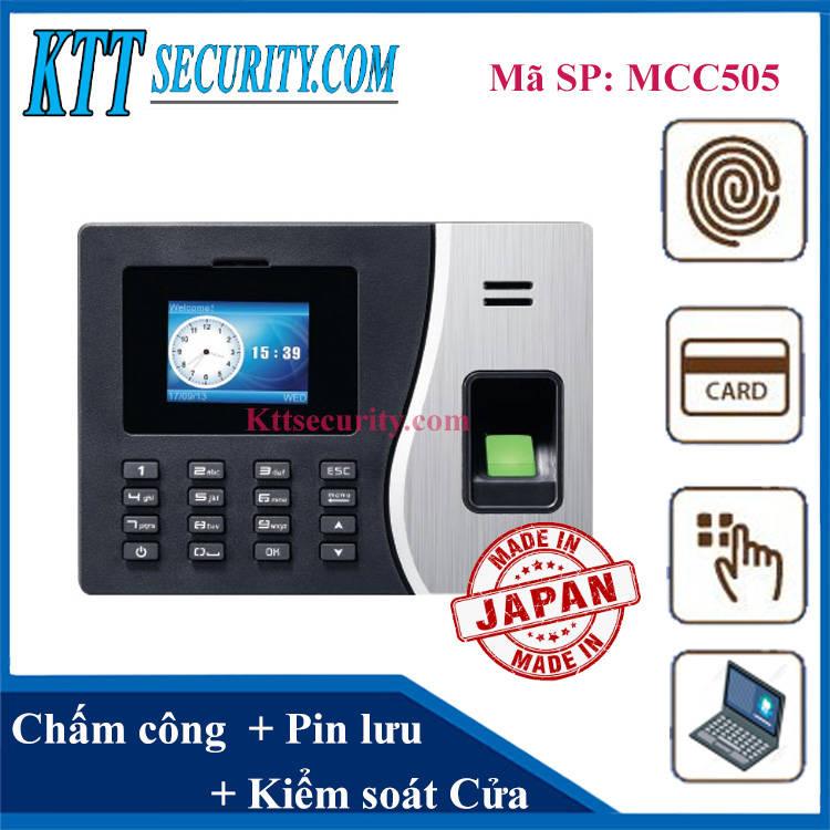 Máy chấm công kiểm soát cửa | MCC505