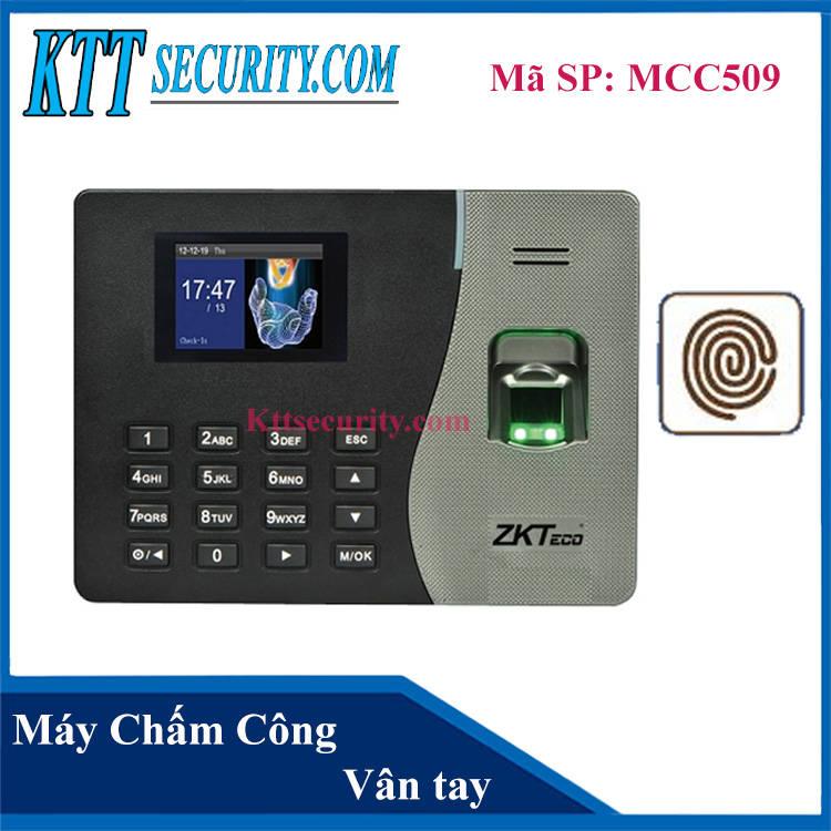 Máy chấm công Vân tay Zkteco | MCC509