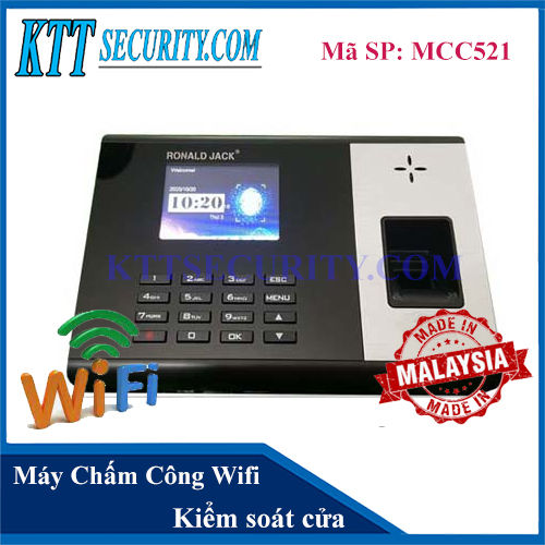 Máy Chấm Công Wifi Ronald Jack | MCC521