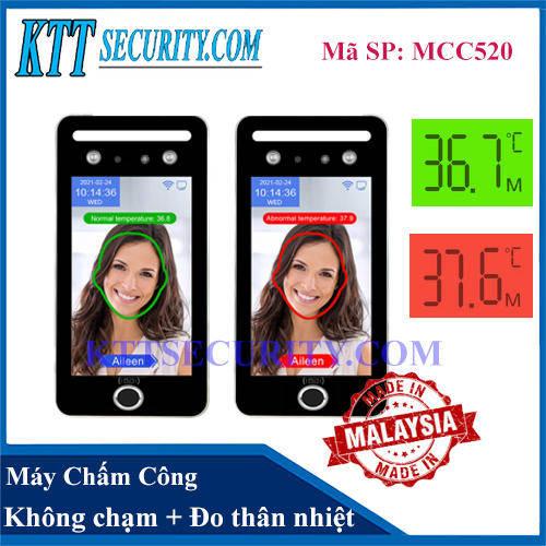 Máy chấm Khuôn mặt đo Thân Nhiệt | MCC520