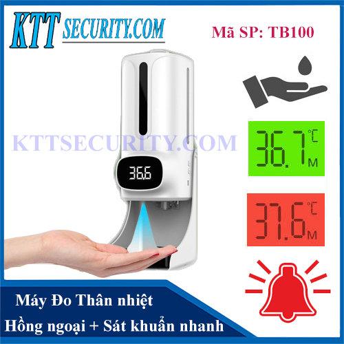 Máy Đo nhiệt độ Hồng Ngoại   TB100