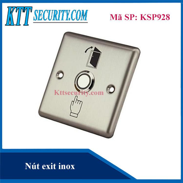 Nút nhấn exit inox | KSP928